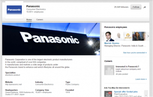 PanasonicLinkedIn